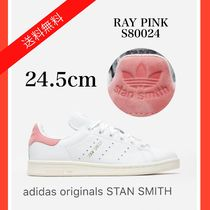 送料無料 24.5cm STAN SMITH S80024 RAY PINK ピンク