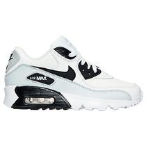追尾/関税込☆Nike Air Max 90 Leather kids 833412? 104