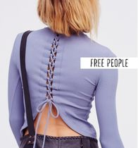 【Free People】FP X☆レースアップトップス