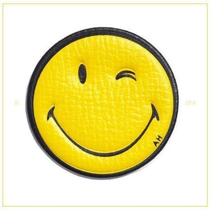Anya Hindmarch respect into smiley wink stickers