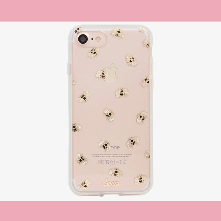【Sonix】 iPhone7/7 Plus ケース★ミツバチ Honey Bee