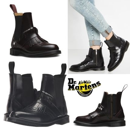 With Dr. Martens TINA Tassel Chelsea zipper