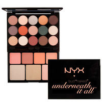 NYX シャドウ チーク ハイライト BUTT NAKED パレット
