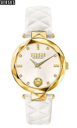 Versus 16-17 AW Covent Garden watch/white & gold