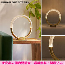*Urban Outfitters*サークル型テーブルライト★ゴールド☆
