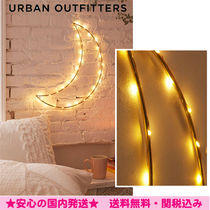 Urban Outfitters(アーバンアウトフィッターズ) 照明 ★Urban Outfitters★ワイヤームーンライト☆*ゴールド*☆