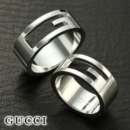 Pair of GUCCI and Gucci G ring SIZE 7-25