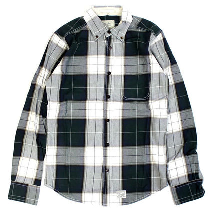 Deus Ex Machina_ALBIE BRUSHED CHECKシャツ【関税送料込】