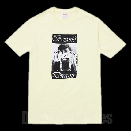 FW16 SUPREME DREAM TEE PALE YELLOW イエロー S-XL 送料無料