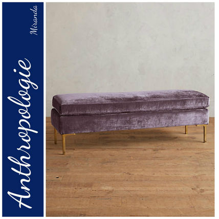 【Anthropologie】Slub Velvet Edlynベンチ
