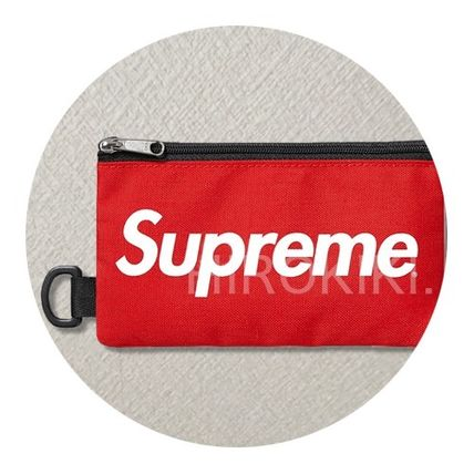 16 AW Supreme Mobile Pouch bag mobile Pouch Red
