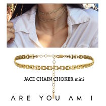 2016AW新作!*ARE YOU AM I*JACE CHAIN CHOKERミニ