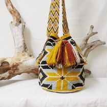 WAYUU MOCHILA MULTICOLOR BAG from La Guajira Colombia