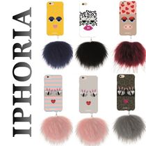 【国内発送】Monster raccoon pom pom iPhone6/6s★ファー付き♪
