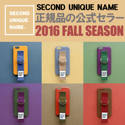 SECOND UNIQUE NAME iPhone・スマホケース 【日本未入荷】「SECOND UNIQUE NAME」 2016 FALL SEASON 正規品