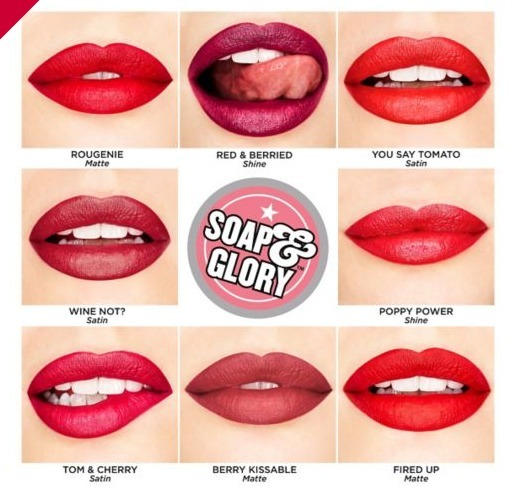 選べる3色☆SEXY MOTHER PUCKER LIPSTICK Soap and Glory 全12色