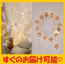 Urban Outfitters(アーバンアウトフィッターズ) 照明 即発☆Urban Outfitters 星 ストリング#ライト