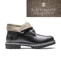 Timberland BLACK QUARTZ COLLECTION ロールトップ レア 希少