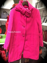 【kate spade】人気コート復刻!bow neck wool coat☆pink