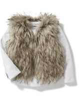 Old navy  Faux-Fur Vest for Toddler 24M-5T