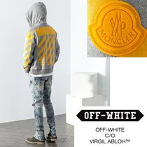 Off-White X MONCLER / 新作 / Yellow-Logo Hood Zip-up