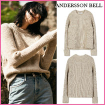 ANDERSSON BELL(アンダースンベル) ニット・セーター 【ANDERSSON BELL】正規品★COTSWOLD RAGLAN SWEATER/追跡付