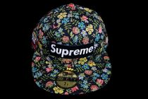 SS13 SUPREME NEW ERA LIBERTY FITTED FLORAL NAVY 送料無料
