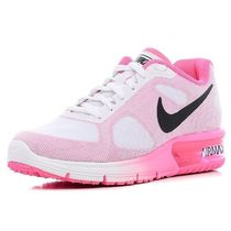 【Nike】Air Max SEQUENT★ホワイト×ピンク 719916-106