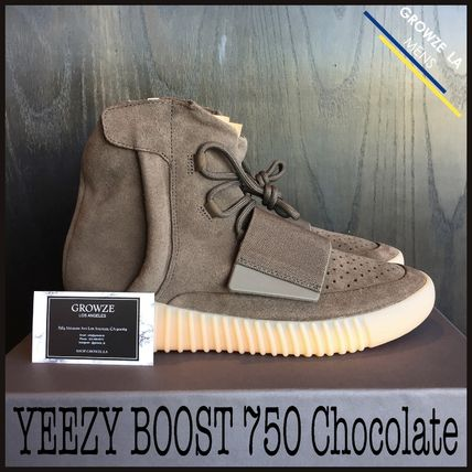 ★【adidas】入手困難!! YEEZY BOOST 750 Chocolate