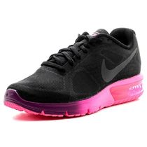 【Nike】Air Max SEQUENT★ブラック×ピンク 719916-015