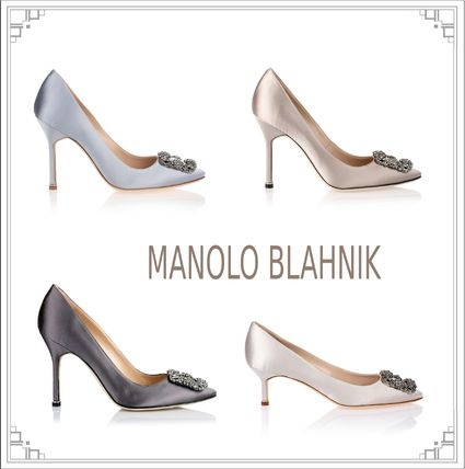 Manolo hangs gray collection