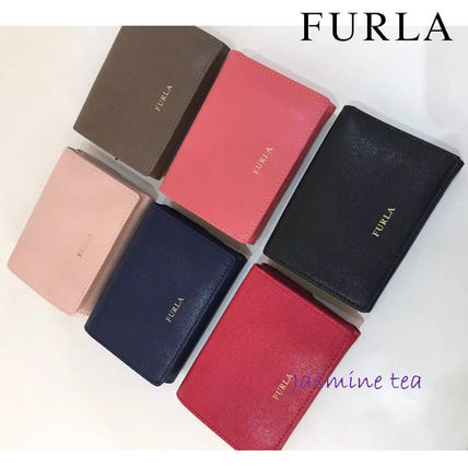 Already in stock and FURLA bifold leather wallet