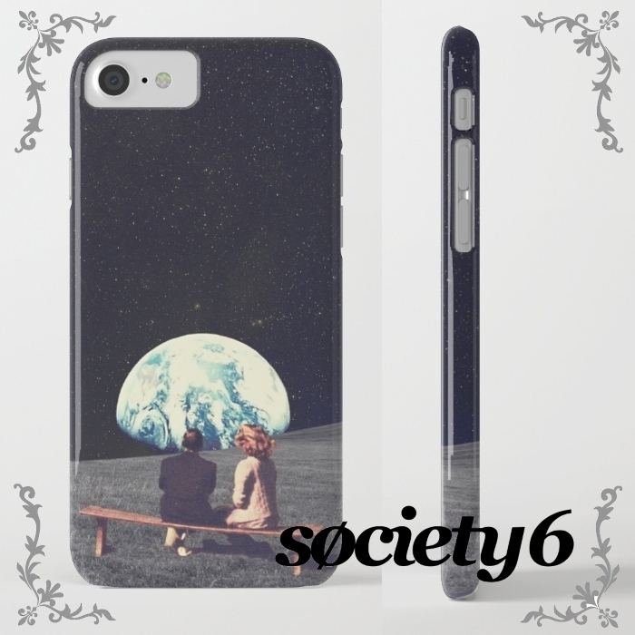 【Society6】iPhone7ケース 宇宙旅行 6/6Sやプラスに変更可☆