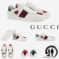 [GUCCI]【Web Ace Sneakers】 超キュート♪ レザー スニーカー☆