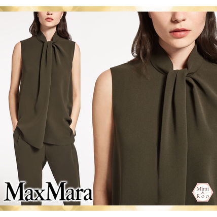Max Mara never want drapes x * sleeveless tops