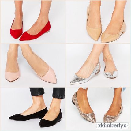 ASOS * other new colors and * pointed toe flat shoes
