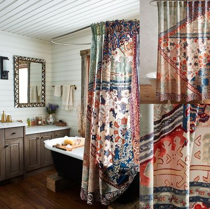 NEW Anthropologie * lisachawor curtains