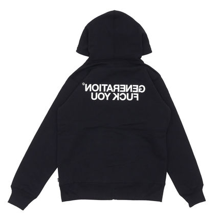 Supreme × UNDERCOVER Generation Fuck You Zip Up Sweat 黒