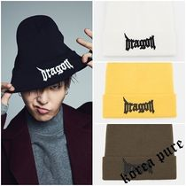【8 X G-Dragon】 Dragon Embroidery Beanie_ GD Collaboration