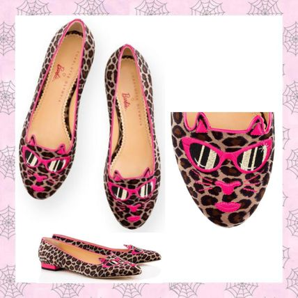 16-17AW【Charlotte Olympia】PINK KITTY IN PRETTY レオパード
