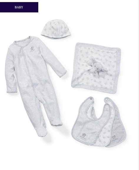 新作♪国内発送 UNISEX 6-PIECE SET girls 0~24M