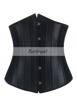 Burvogue24p reinforced steel born corset black