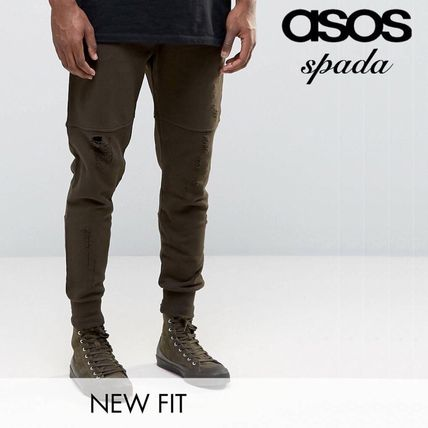ASOS SALE zip pocket damage processing Jogger /