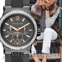 【大人気】MICHAEL KORS UNISEX GRAY WATCH MK8426