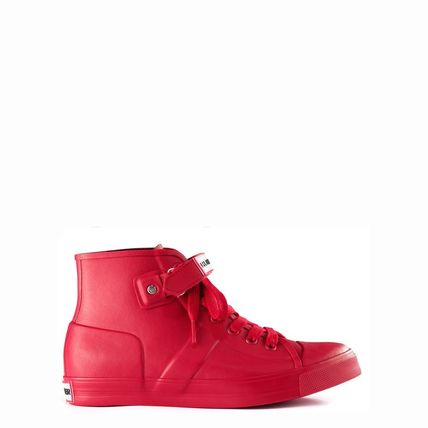 HUNTER boots Milban Red Red US5-US9-