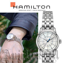 ★人気★Hamilton Railroad White Mother Of Pearl H40311191