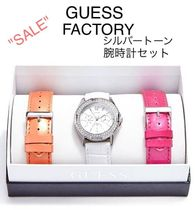 GUESS FACTORY☆限定セール☆シルバートーン腕時計セット