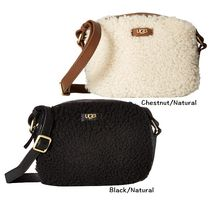 もこもこ☆UGG ☆Vivenne Sheepskin Small Satchel ポシェット