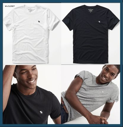 Abercrombie & Fitch Tシャツ・カットソー Abercrombie & Fitch アバクロメンズ ベーシック半袖Tシャツ