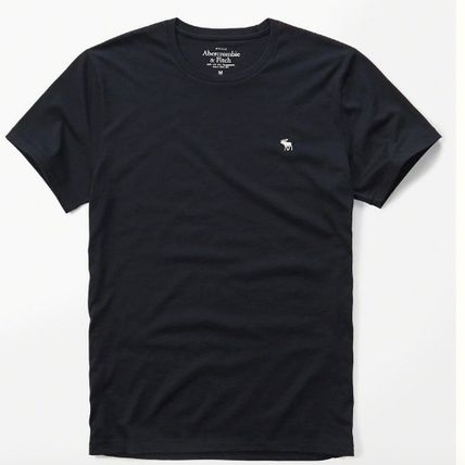 Abercrombie & Fitch Tシャツ・カットソー Abercrombie & Fitch アバクロメンズ ベーシック半袖Tシャツ(4)